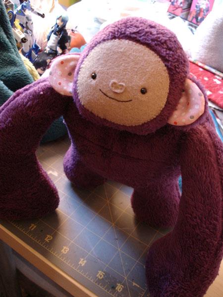 Gorilla-purple
