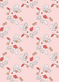 Squirrel-pinks-pattern